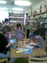 Pomoc ZŠ v knihovně