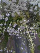 Výsledná kytice od  floristy,